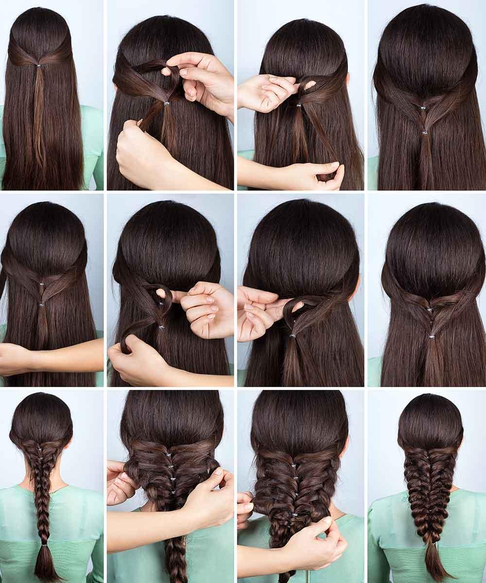 Tutorial de peinados de dama de honor de niña