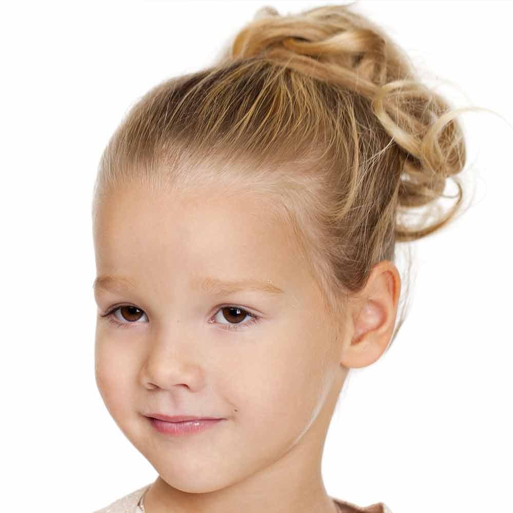 Peinado de ceremonia para bebé niña