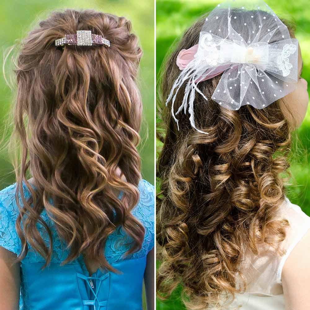Peinados ceremonia niña