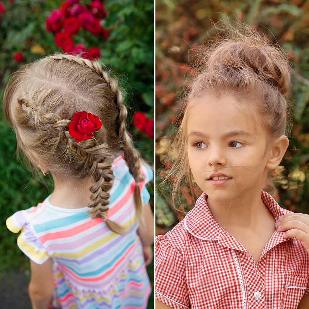 Peinados de niña 2020