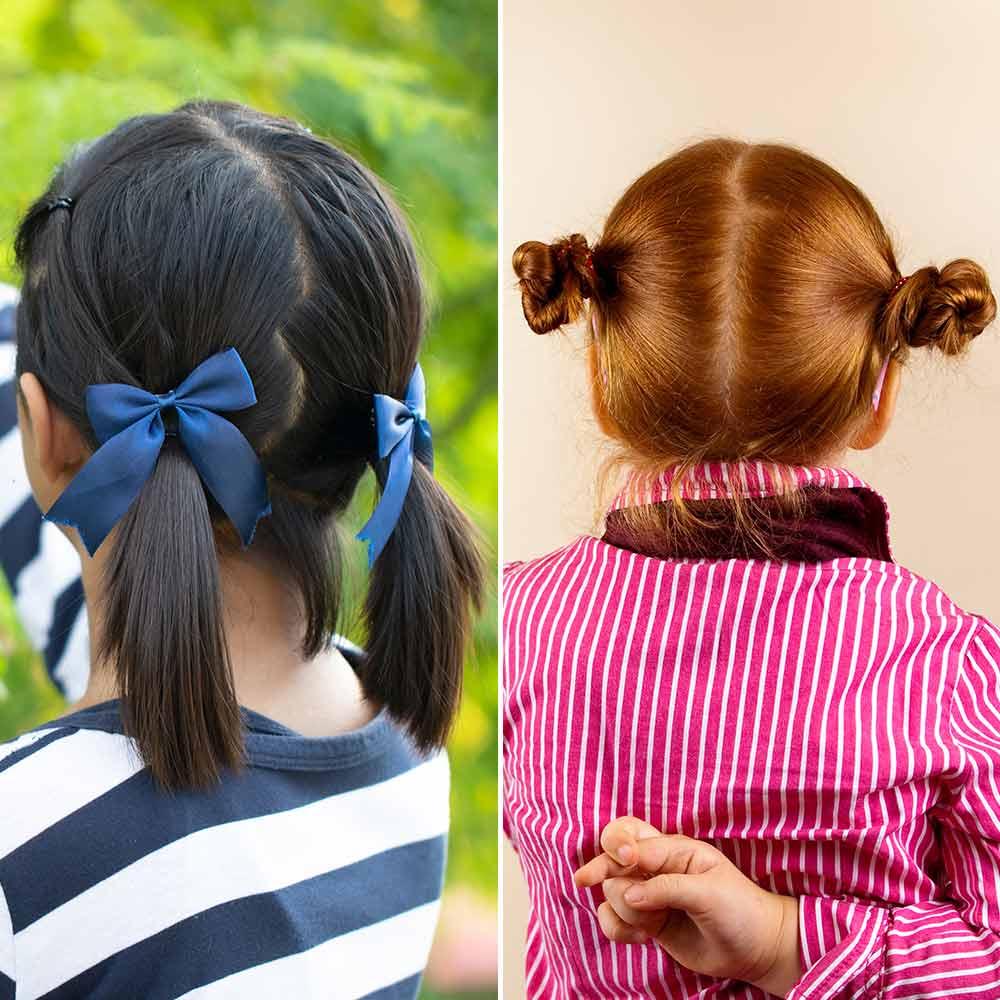 Sencillos peinados para niñas 2020