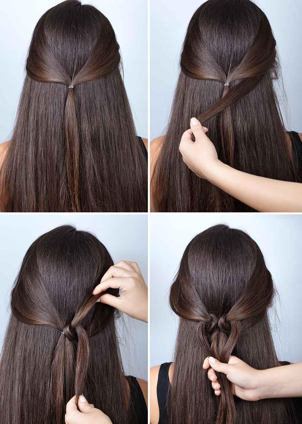 Tutorial de peinado sencillo de niña