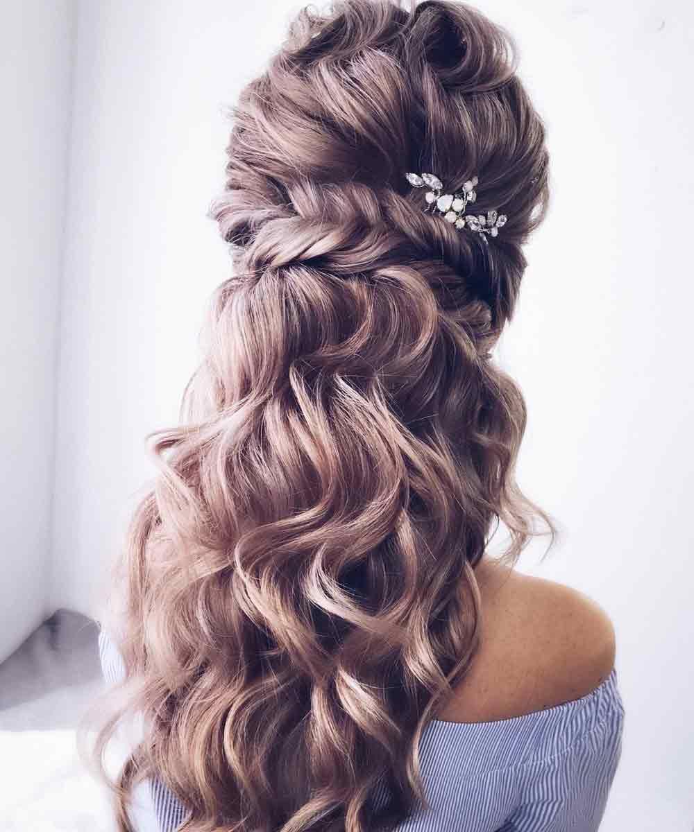 Semitrenza de pelo largo