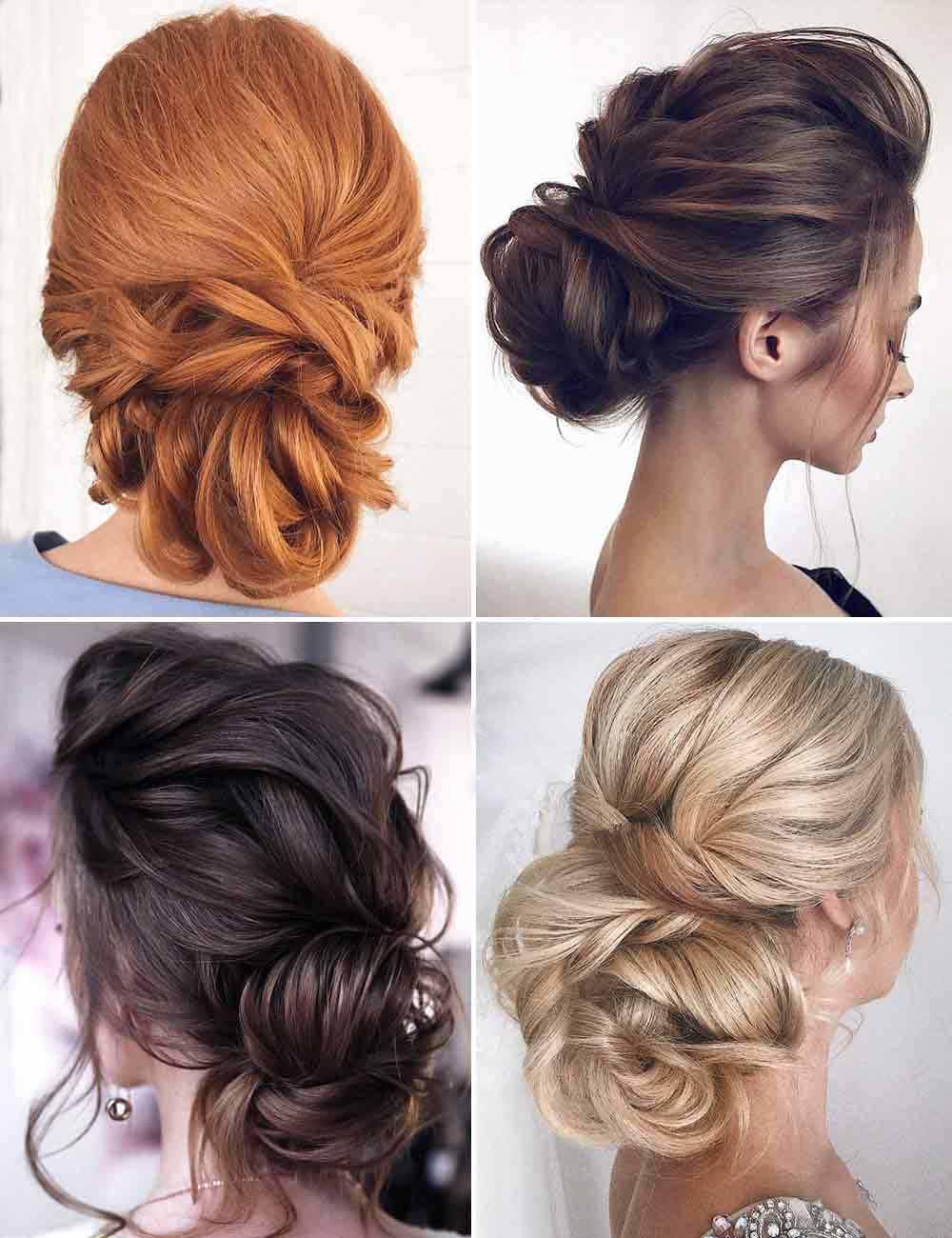 Peinados de pelo largo con recogida suave