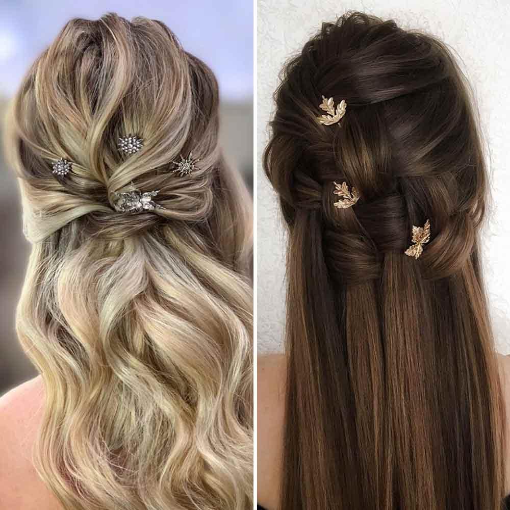 Peinados sueltos de pelo ancho