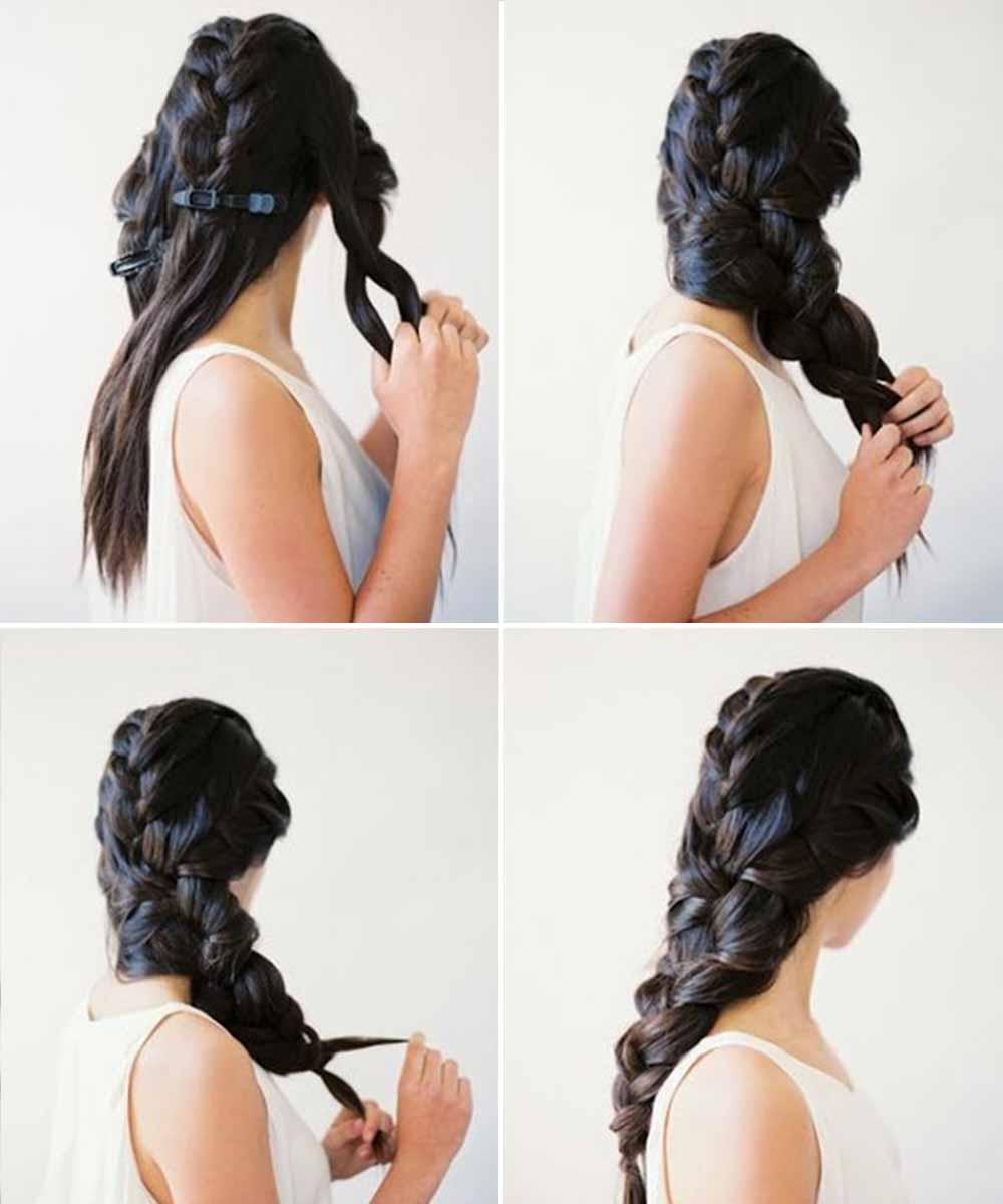 Tutorial de peinado sencillo para cabello largo