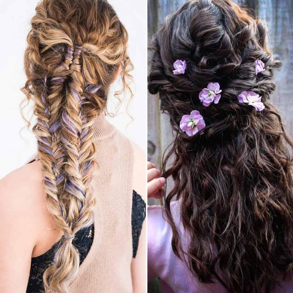 Peinados de pelo largo ricci