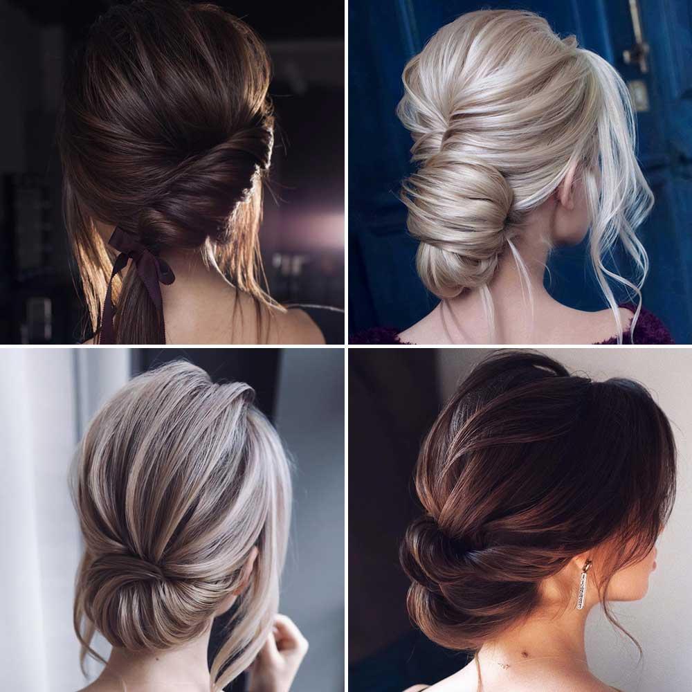Lisos peinados de pelo largo