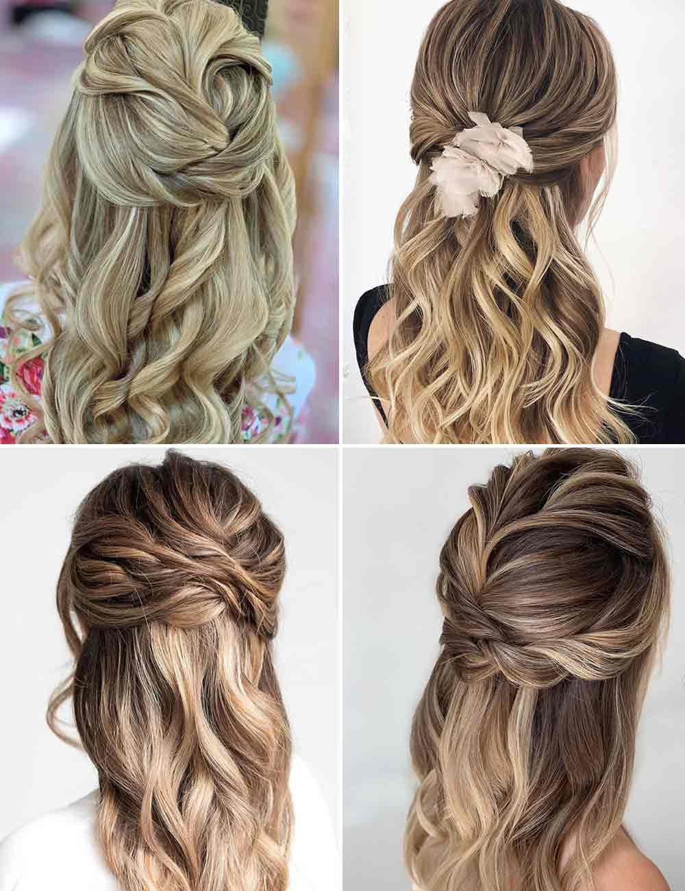 Peinados de pelo largo easy quick