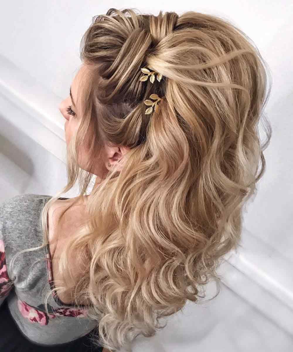 Peinados para cabello largo y ondulado