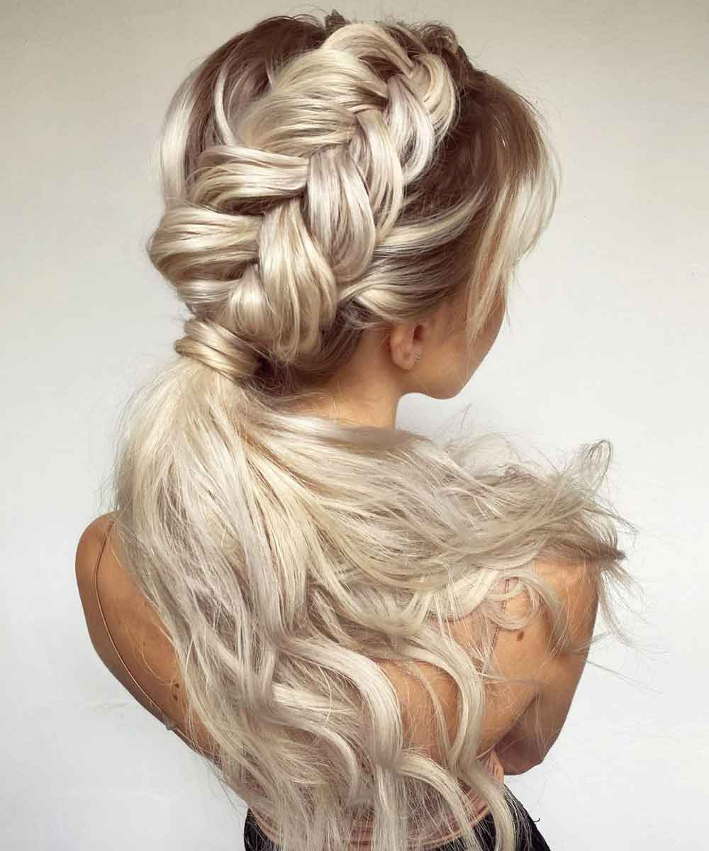 Peinados cola pelo largo