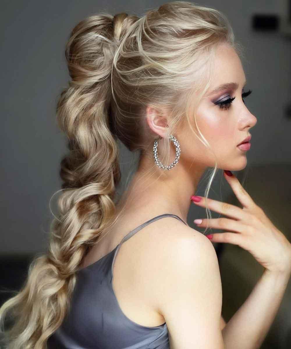 Trenzar el pelo largo