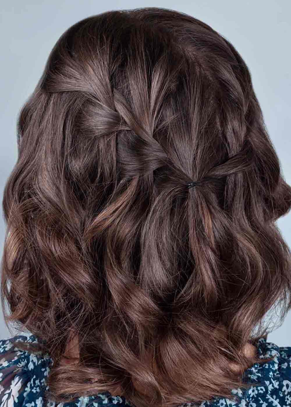 Peinados para pelo rizado medio