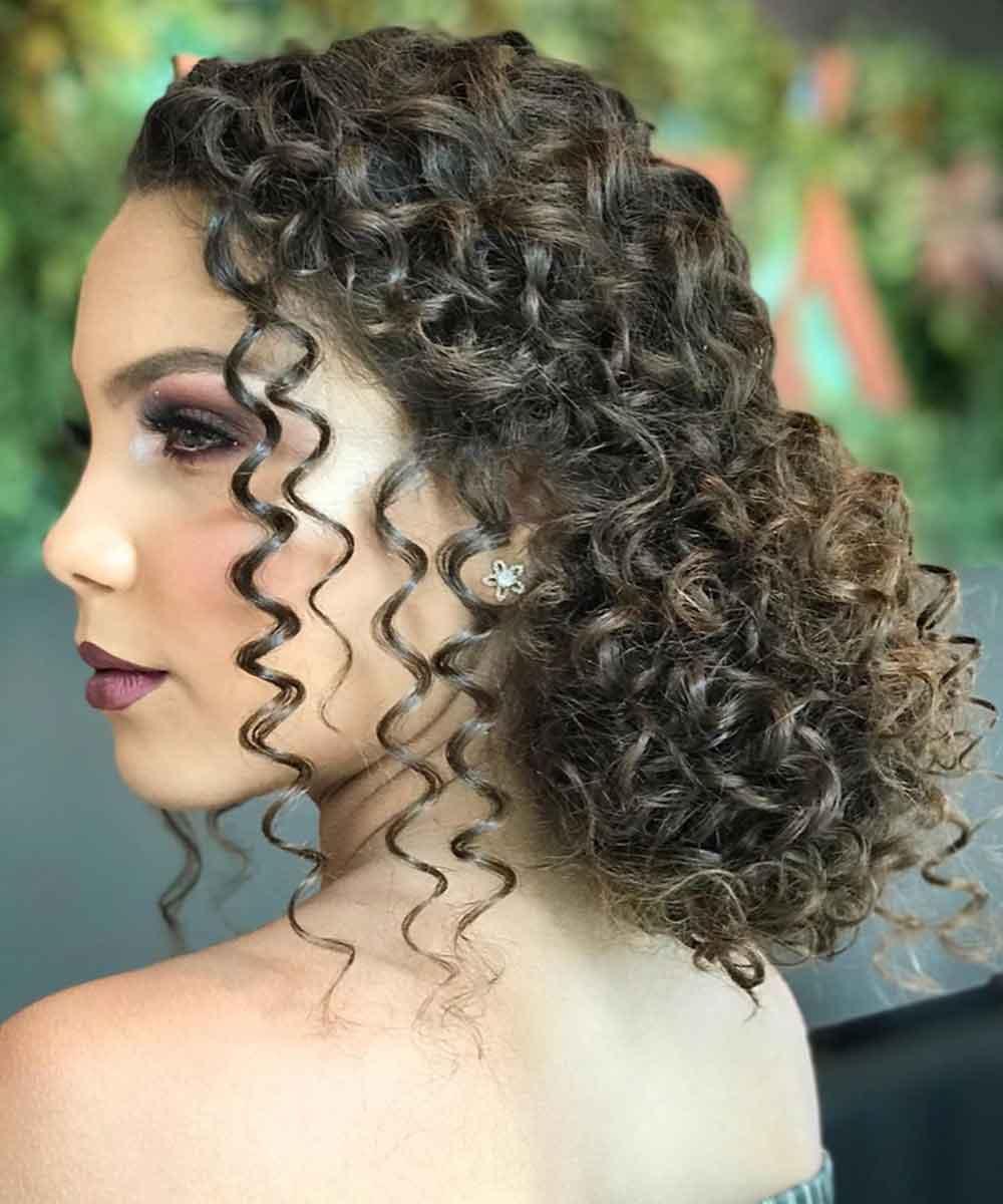 Peinados para pelo rizado afro