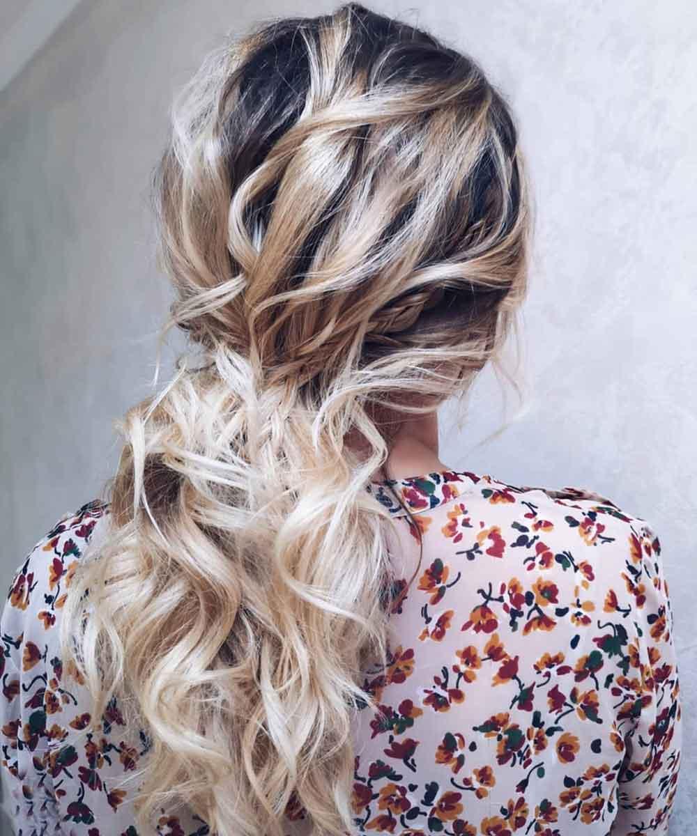 Peinados diarios para cabello rizado