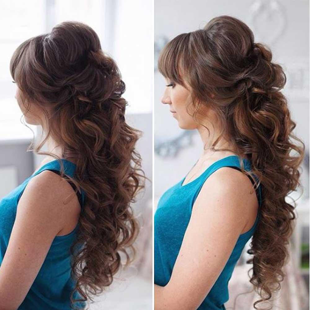peinados para cabello rizado