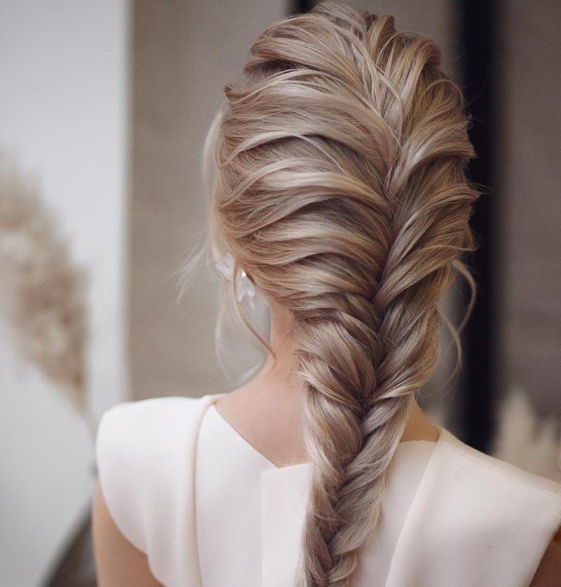 Peinados de boda con trenzas