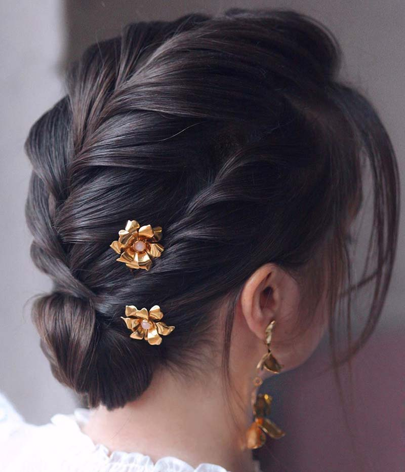 Cosecha peinados trenzas boda