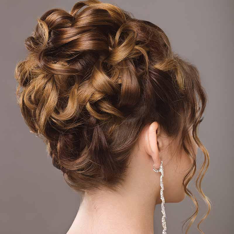 Peinados de boda Head Crop