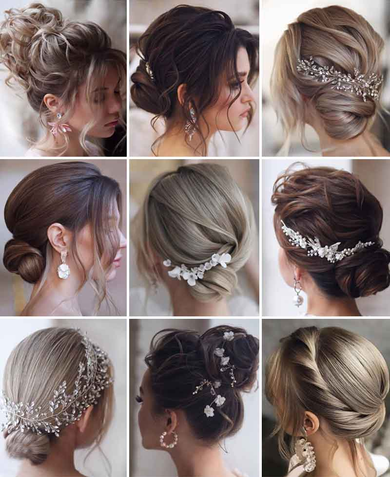Hermosos peinados de boda