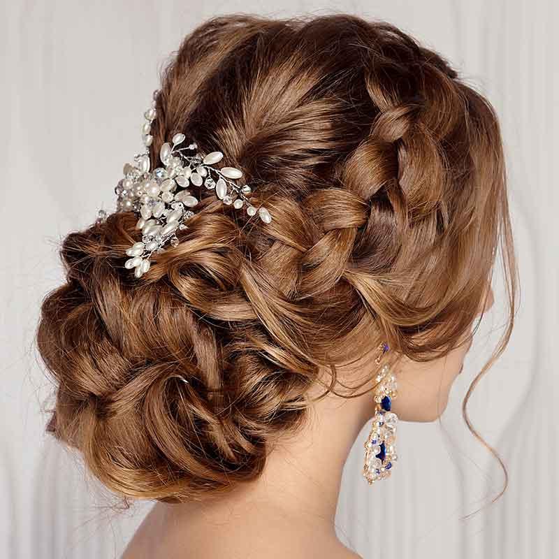 Peinados de boda para damas de honor
