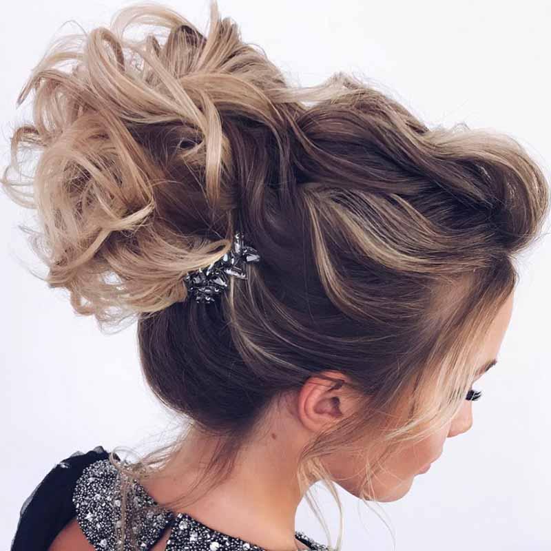 Hermosos peinados para invitadas de boda