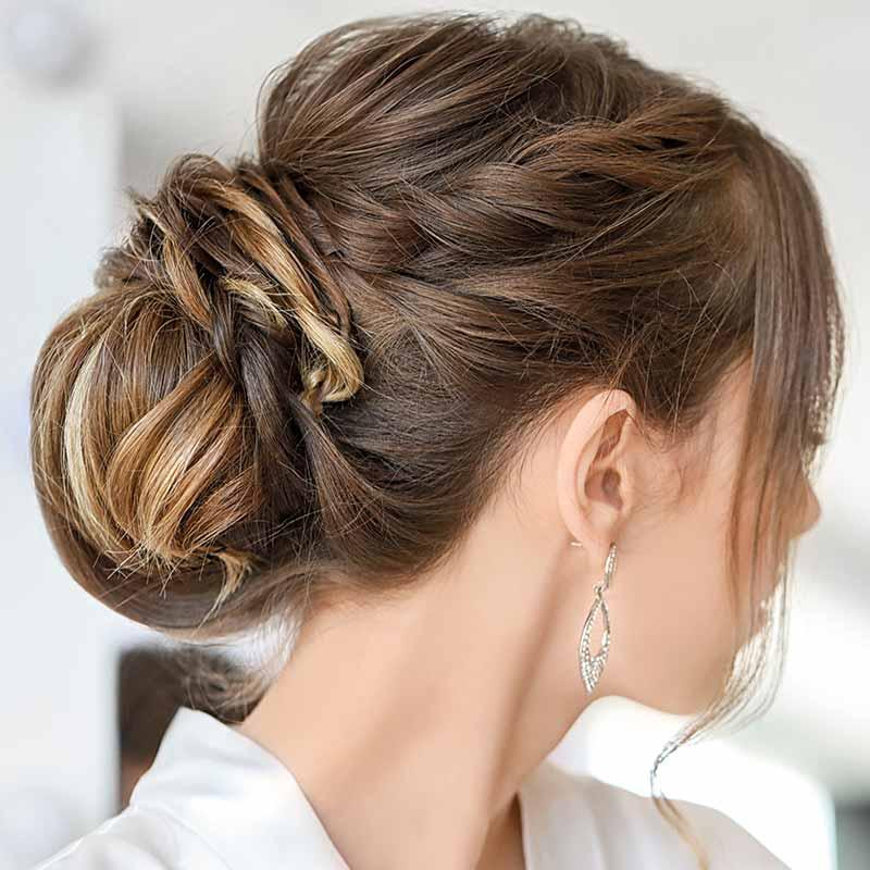 Peinados de boda sencillos