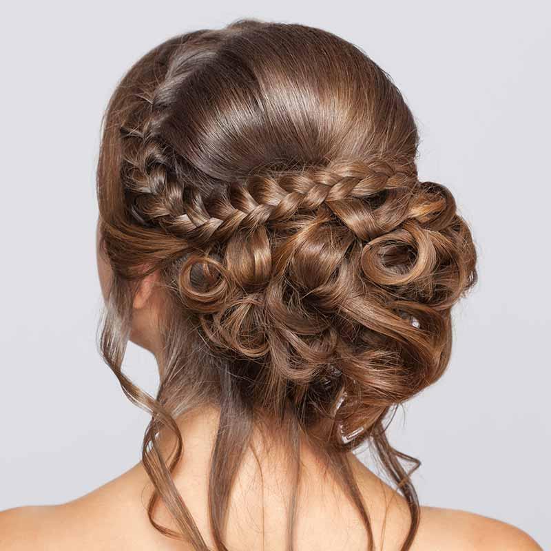 Peinados de boda con trenza
