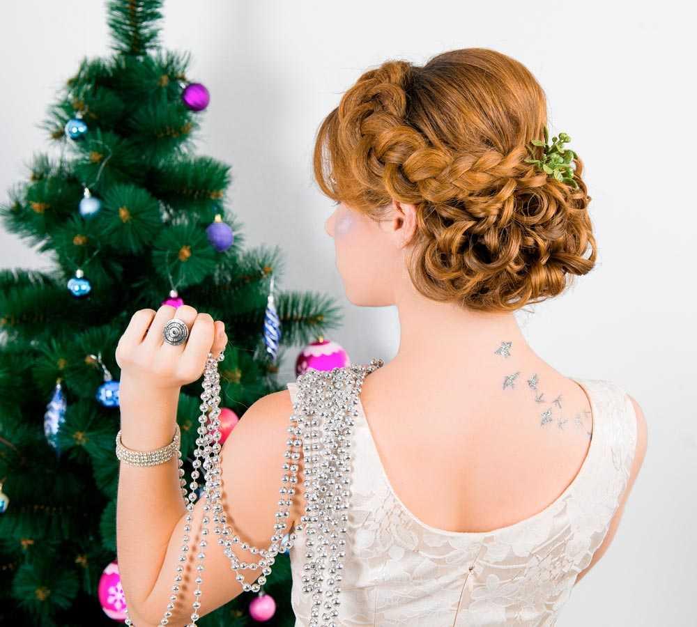 Peinados de Navidad recogidos
