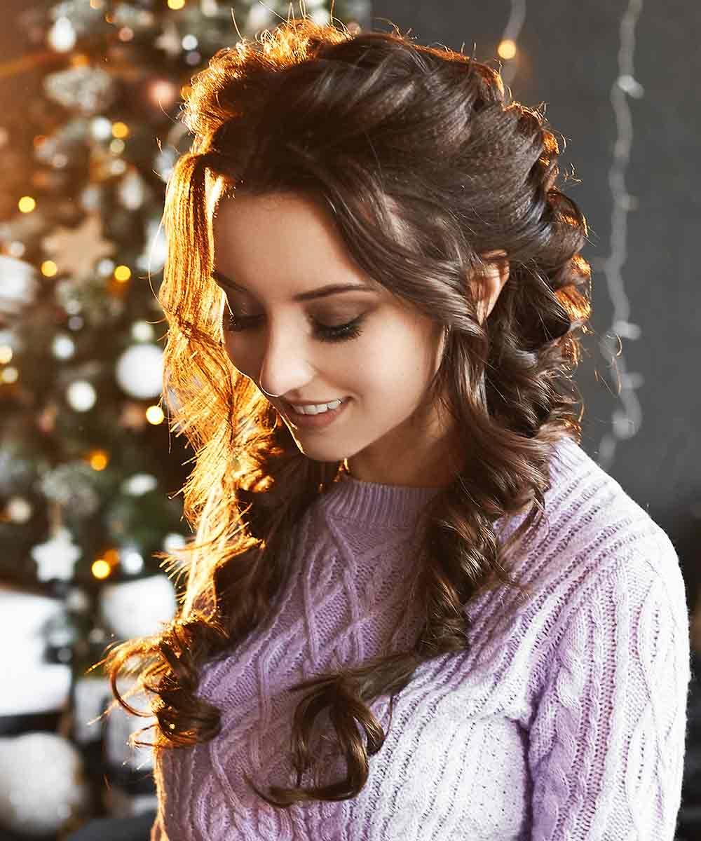 Trenzas de Navidad