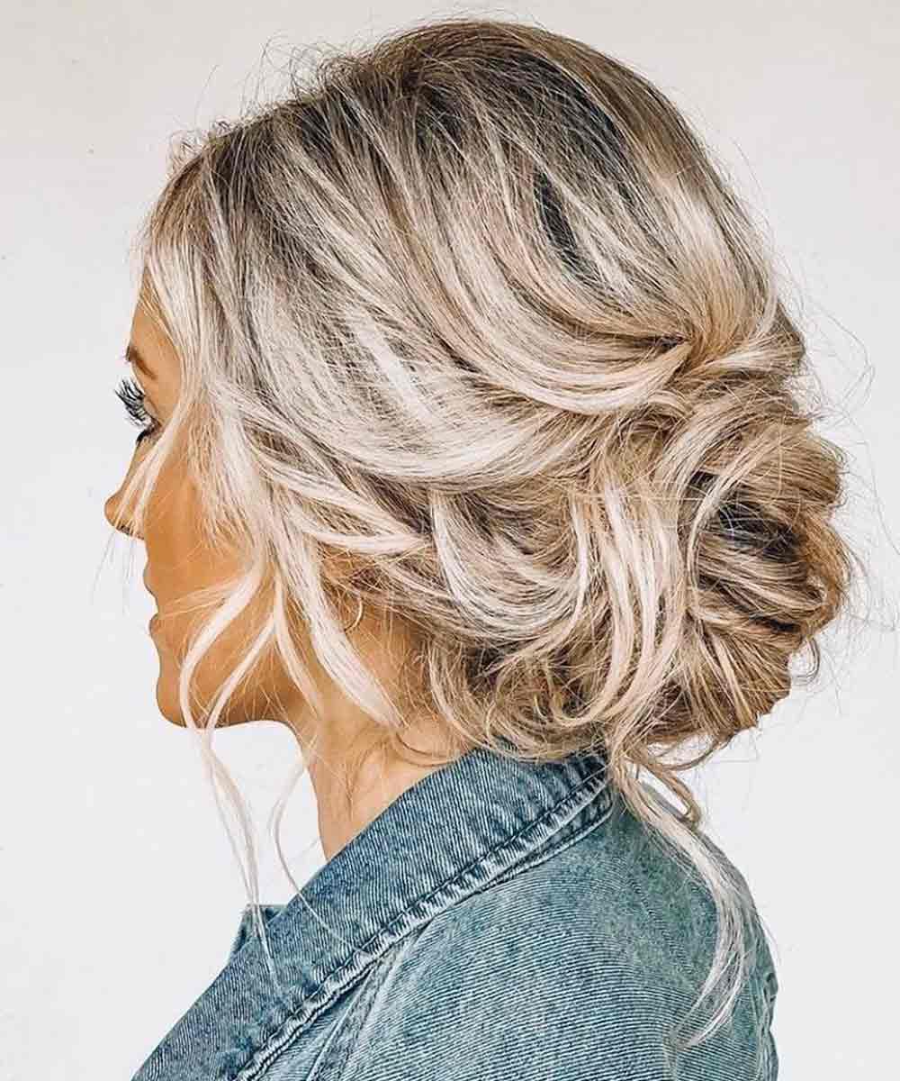 Peinados recogidos suaves verano 2021