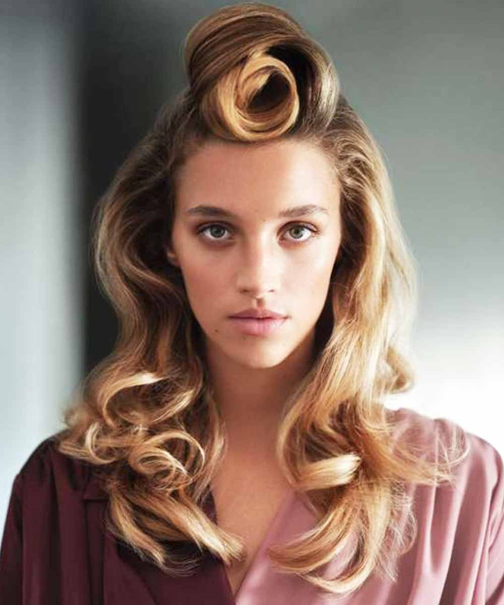 Peinados semirecogidos suaves verano 2021