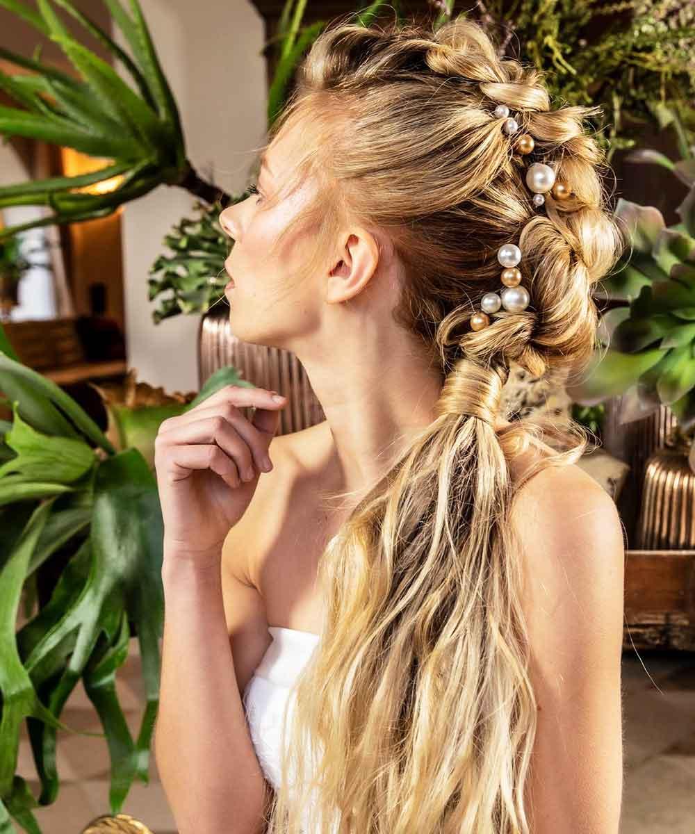 Peinado trenzas primavera verano 2021