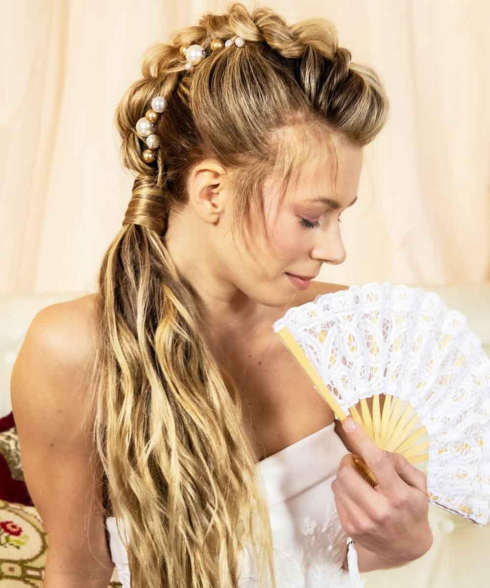 Peinados cola trenzas primavera verano 2021