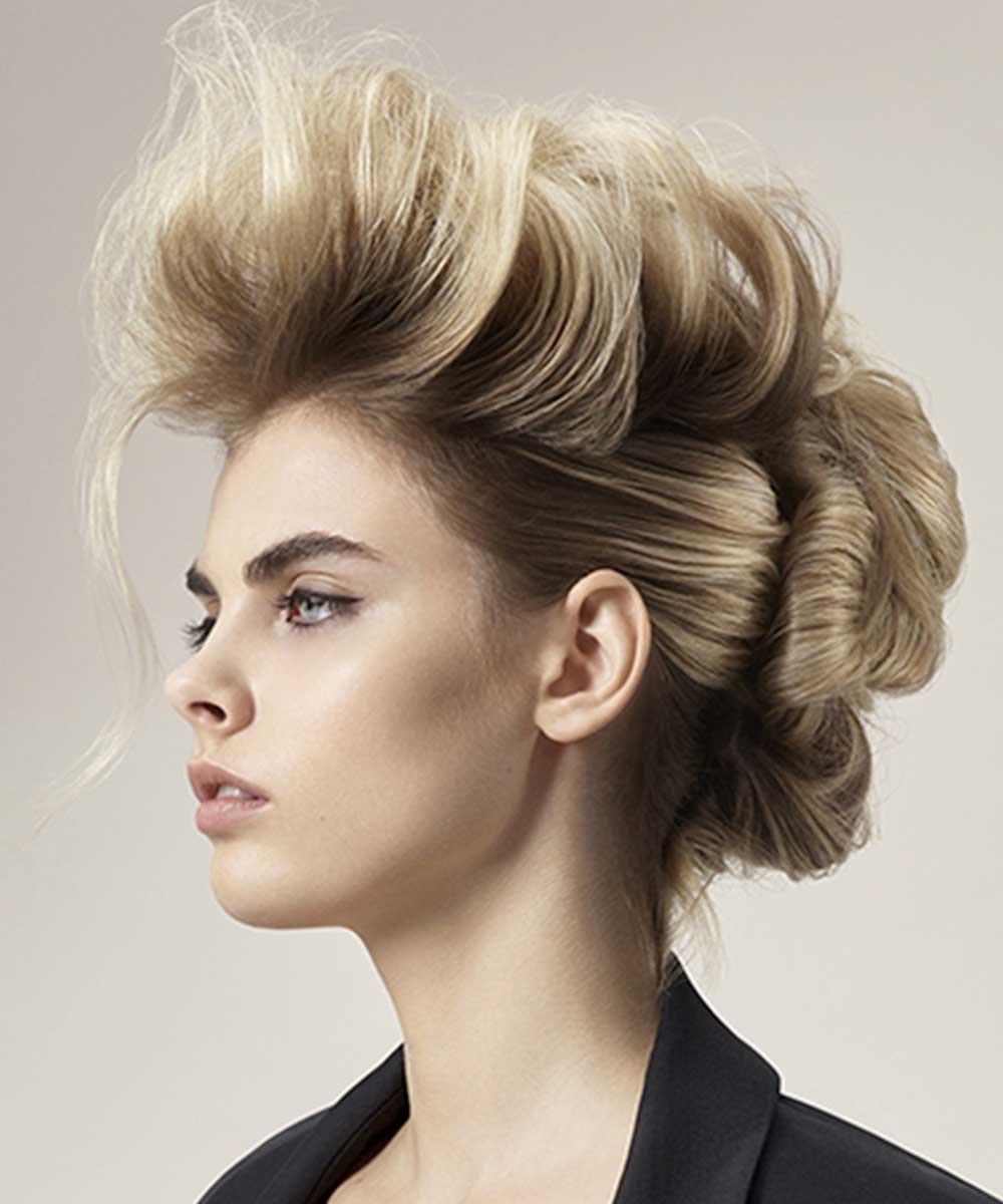 Elegantes peinados recogidos verano 2021