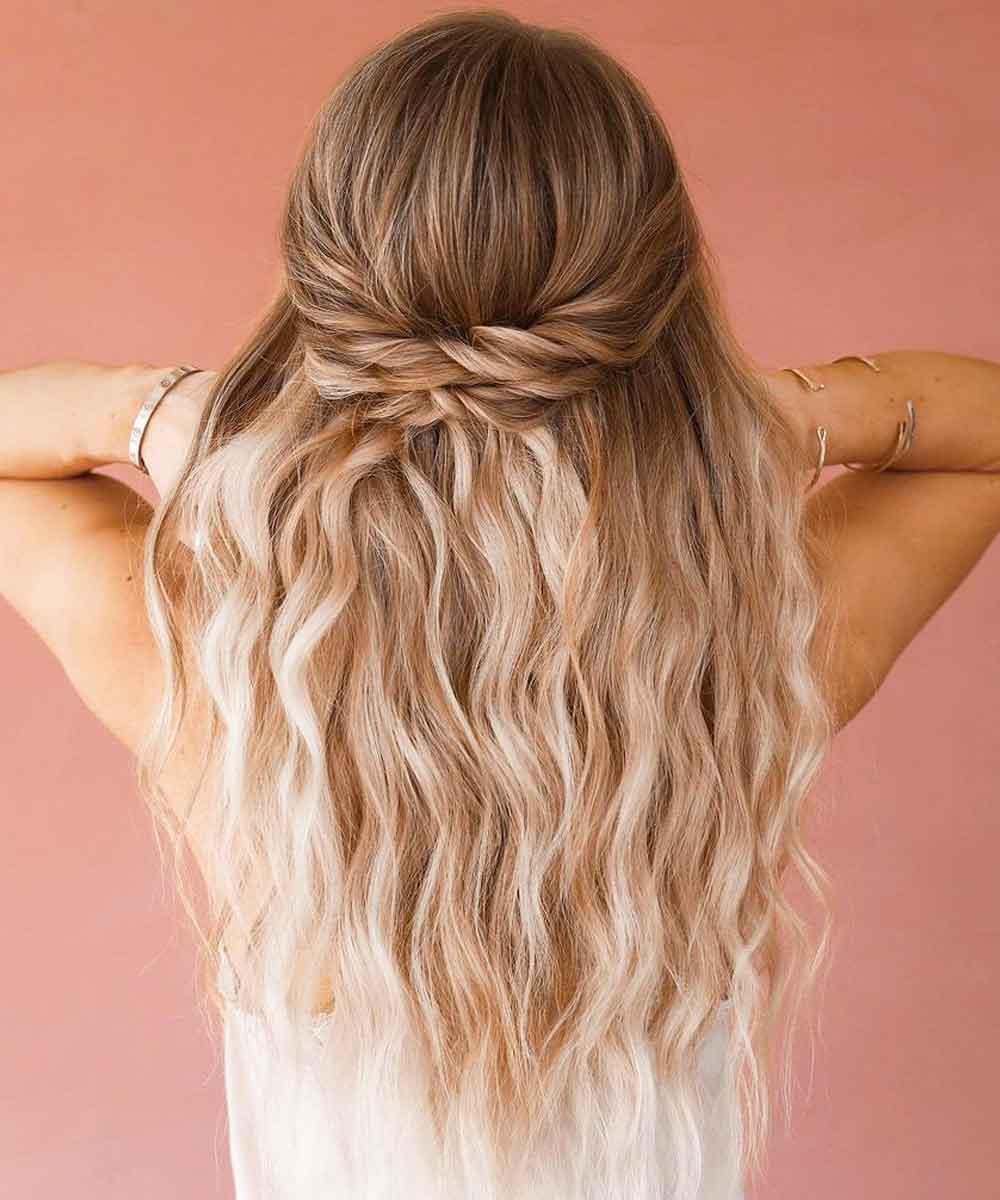 Peinados sencillos verano 2021