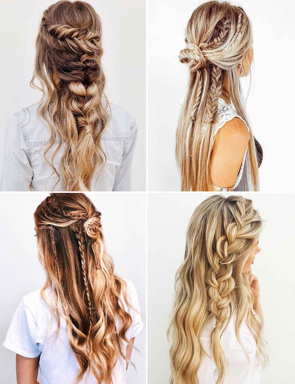 Peinados de verano trenzas 2021