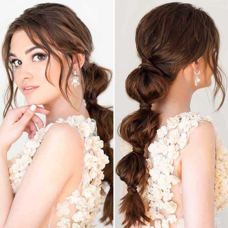 Peinados de novia a lo largo