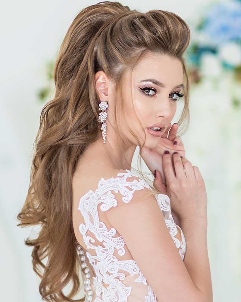 Peinados de semi-boda