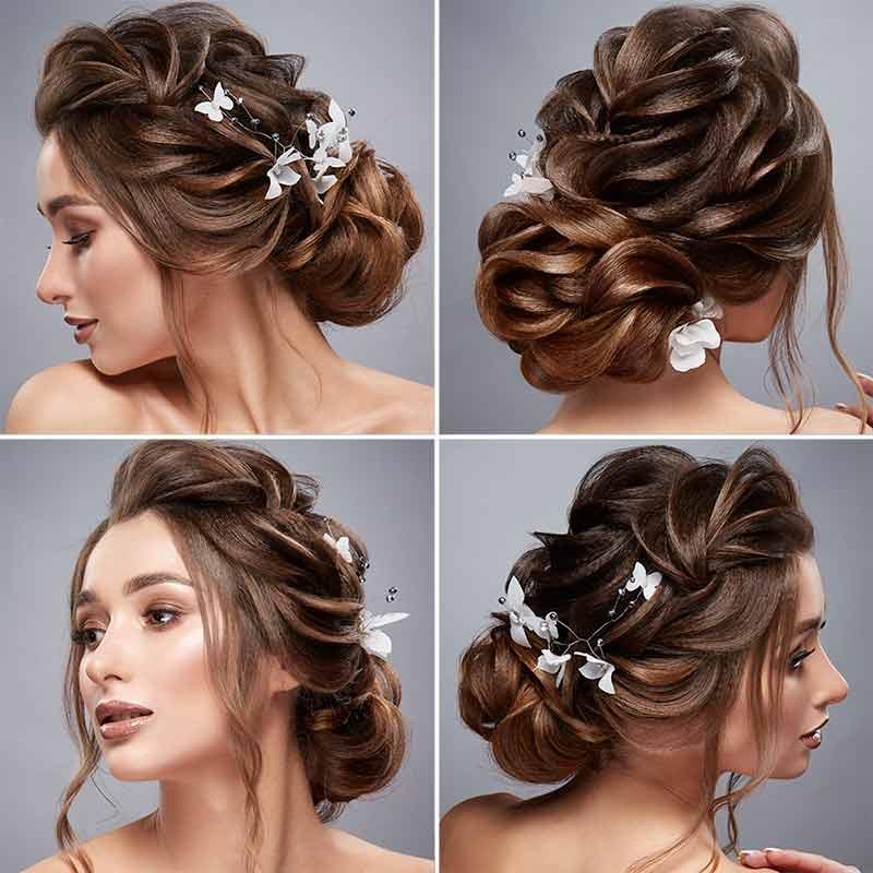 Peinados de novia cultivos suaves