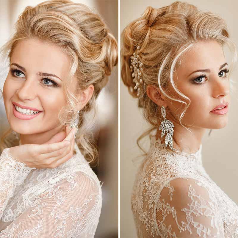 Peinados de boda suaves