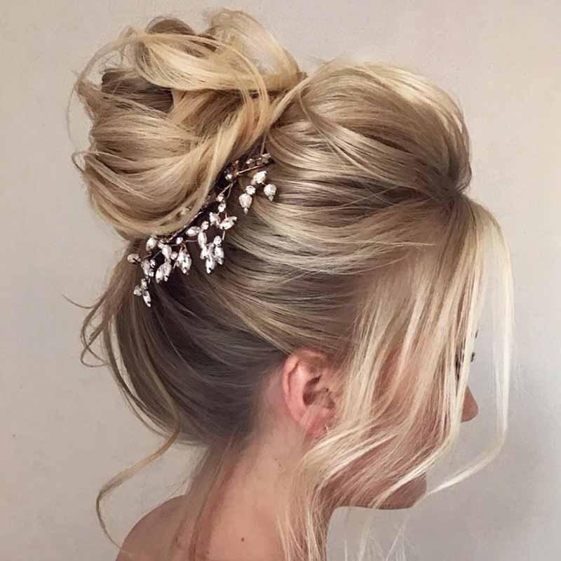 Peinados de novia cosechadosmorbidi