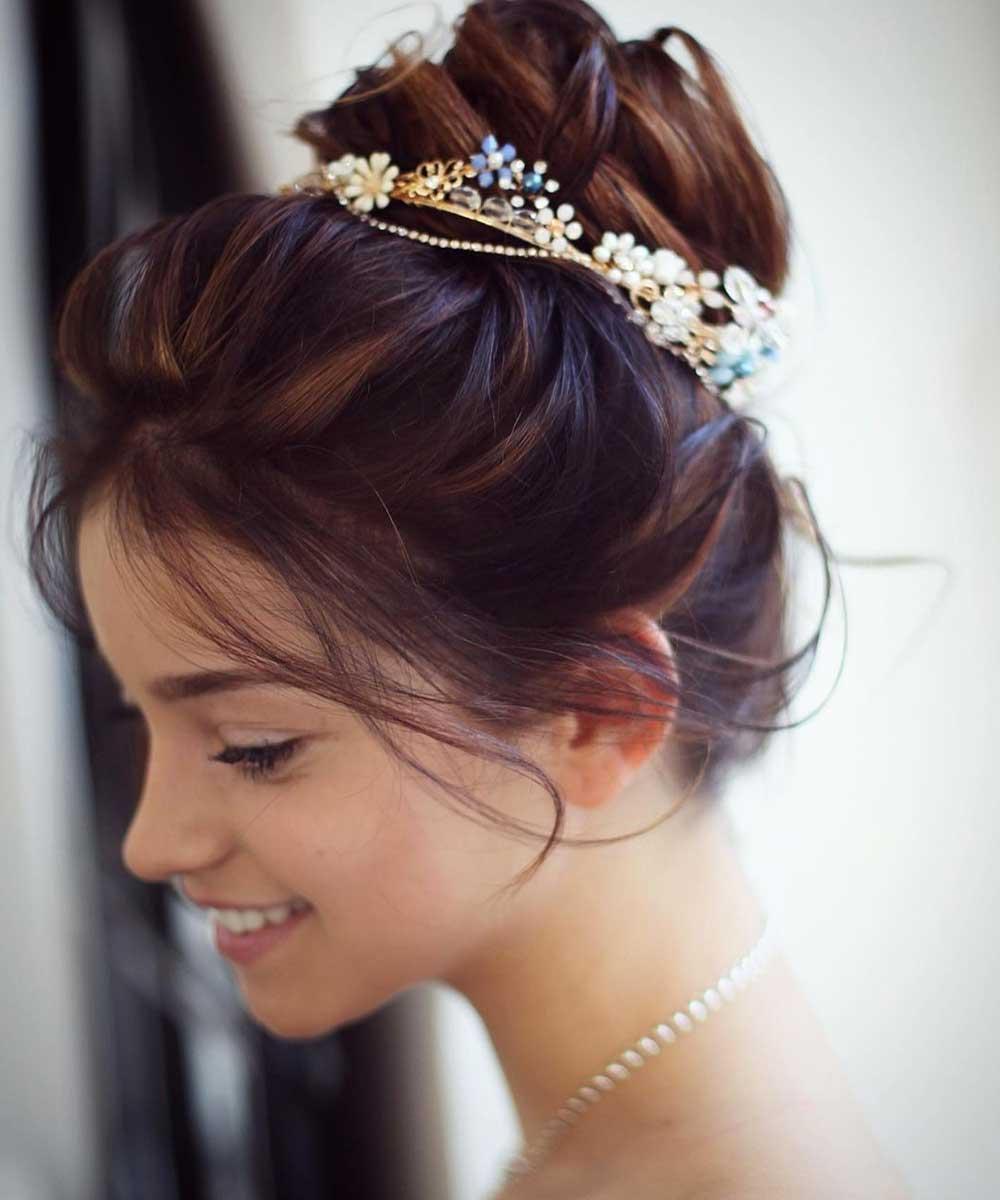 Peinados de novia recogidos 2021