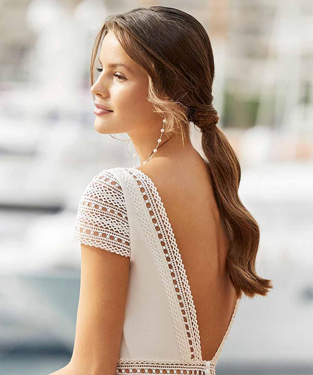 Peinados de novia sencillos 2021