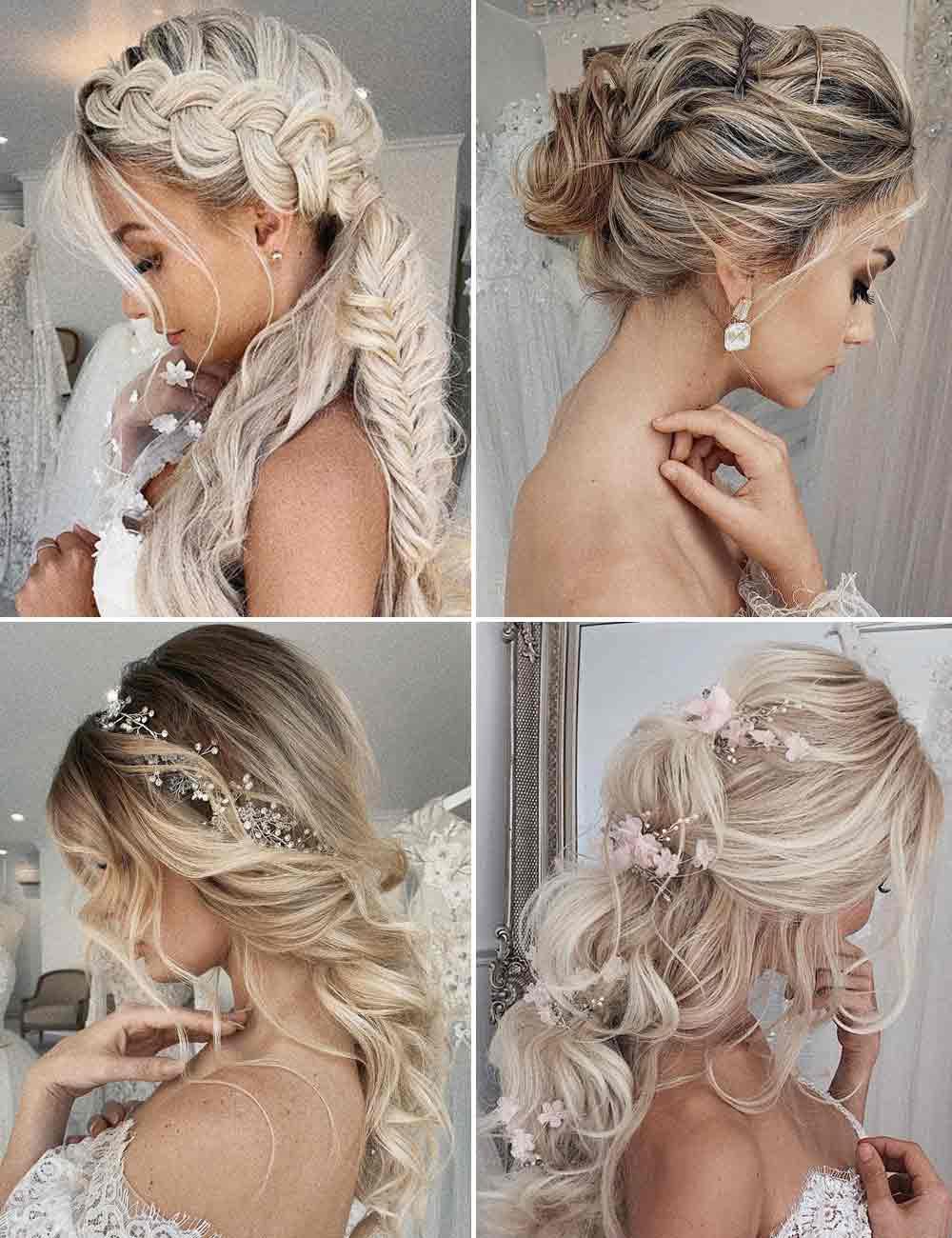 Tendencias en peinados de novia 2021