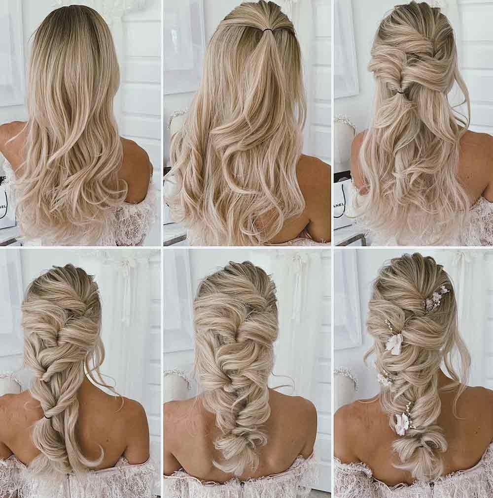 Tutorial de peinados de novia
