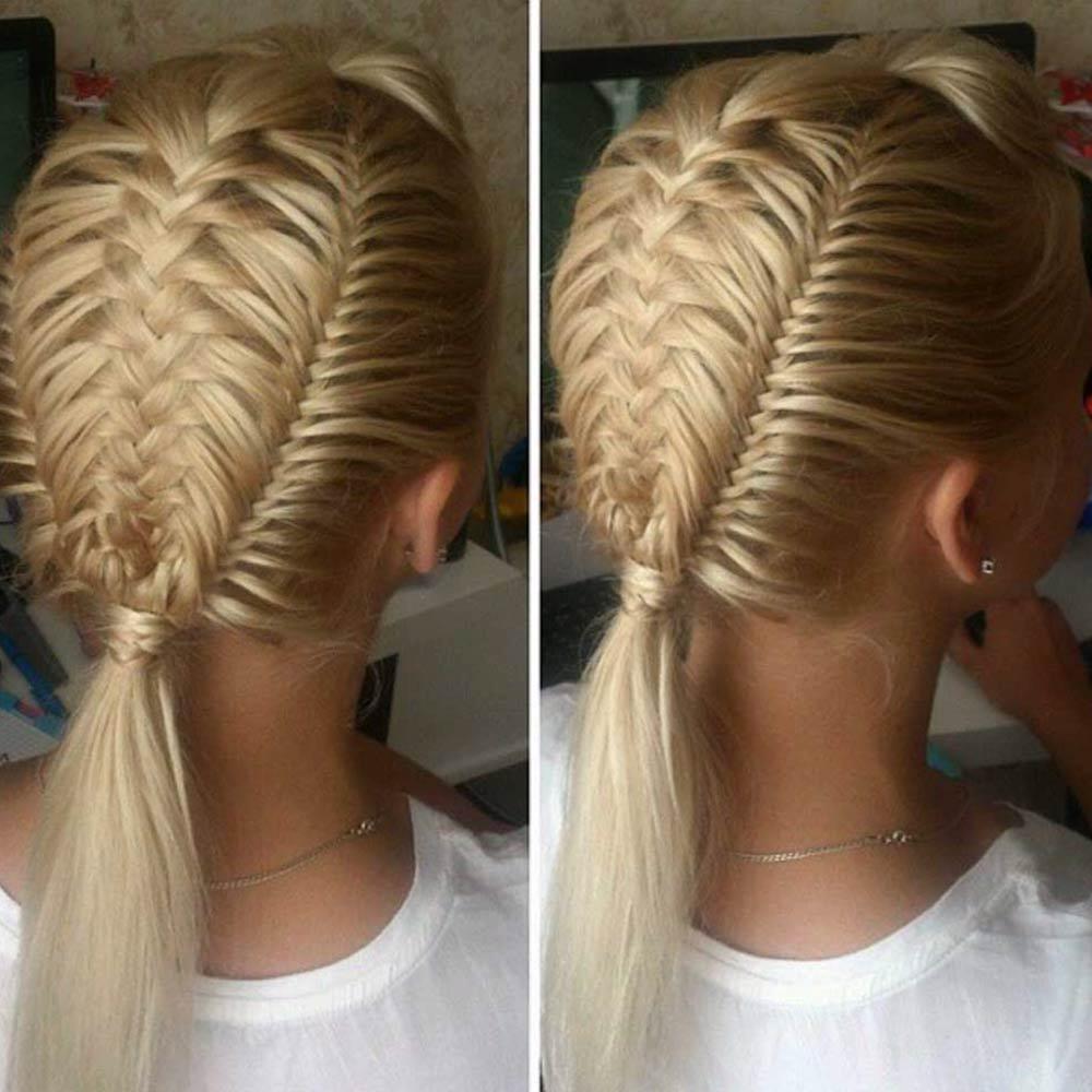 Peinados con trenzasparticolari