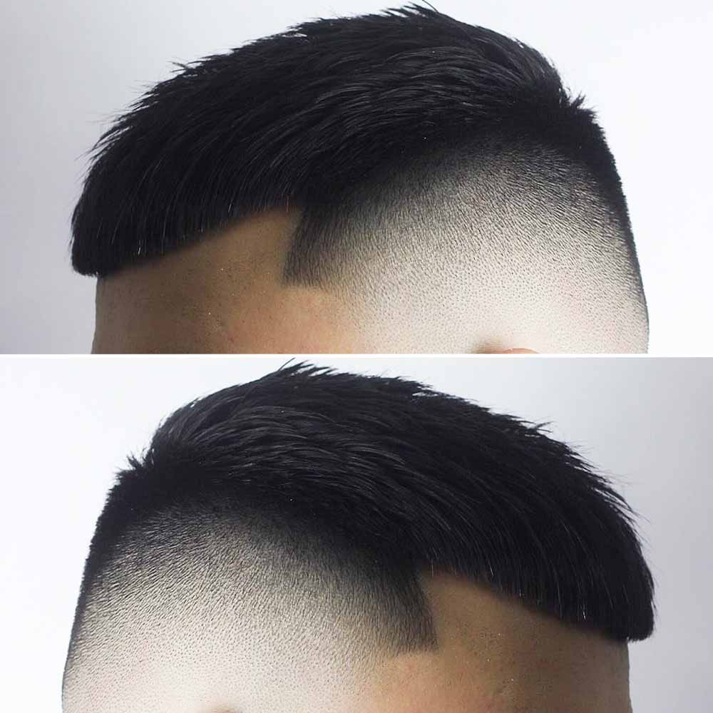 Cortes de pelo muy cortos afeitados