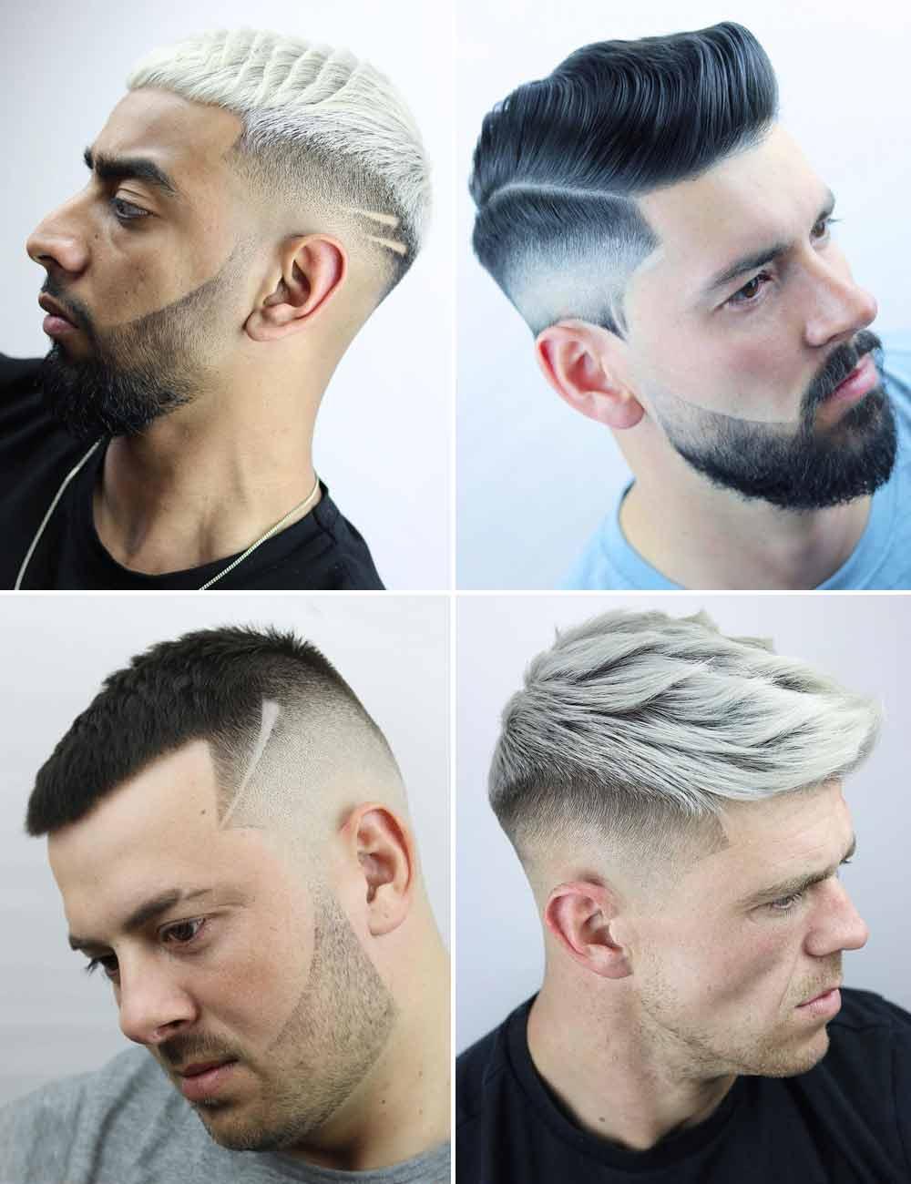 Cortes de pelo corto originales hombre