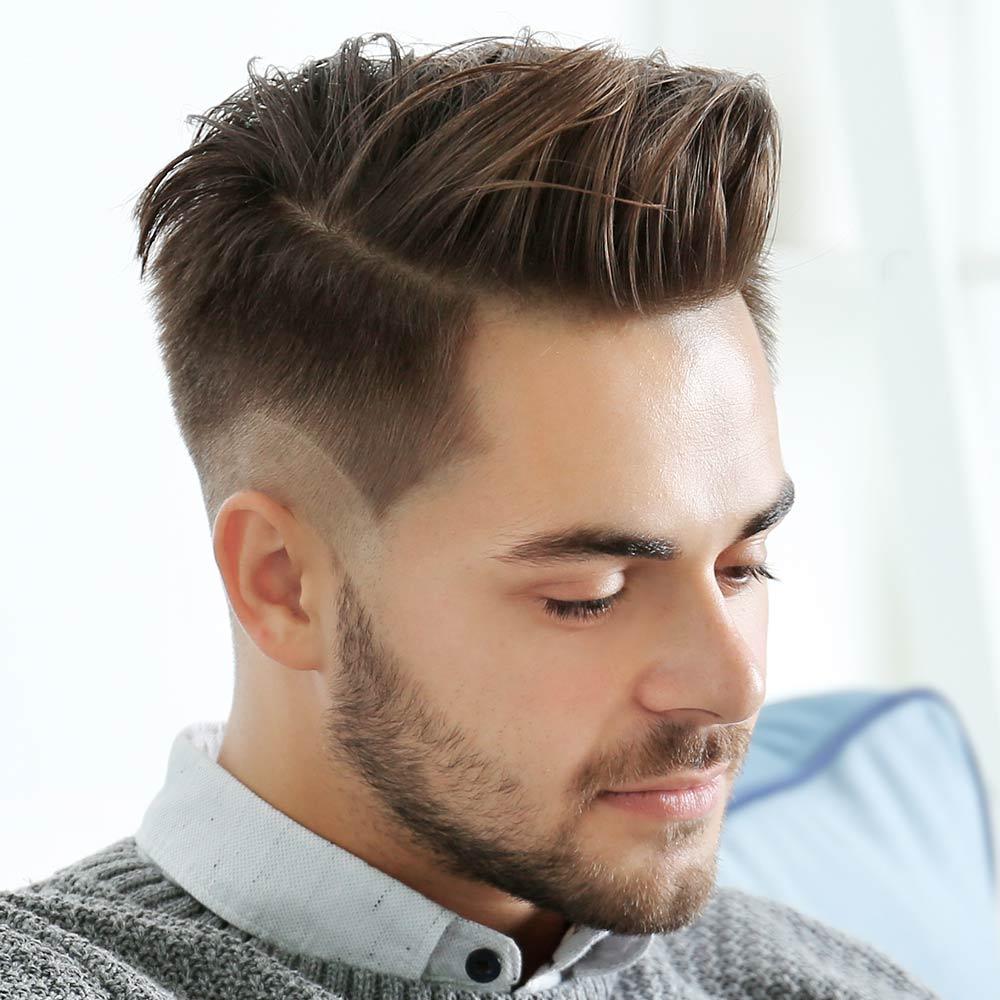 Corte de pelo corto masculino